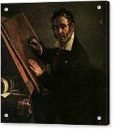 1824 Vasily Tropinin Acrylic Print