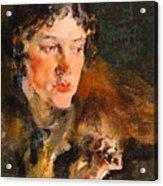 1920- Nikolay Feshin Acrylic Print