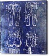 1927 Football Pants Patent Acrylic Print