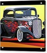 1933 Chevrolet Coupe Acrylic Print