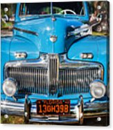 1942 Ford Super Deluxe Sedan Painted  Acrylic Print