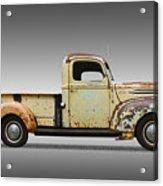 1946 Ford Pickup Truck Acrylic Print