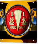 1954 Hudson Grille Emblem Acrylic Print