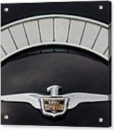 1958 Chrysler Imperial Emblem Acrylic Print