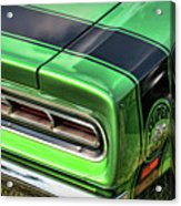 1969 Dodge Coronet Super Bee Acrylic Print