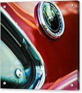 1969 Ford Mustang Mach 1 Emblem Acrylic Print by Jill Reger
