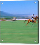 1998 World Polo Championship, Santa Acrylic Print