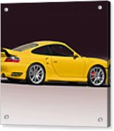 2001 Porsche 911 Turbo Acrylic Print