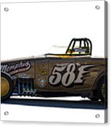 581 Bonneville Race Car Acrylic Print