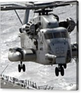 A Ch-53e Super Stallion Helicopter Acrylic Print