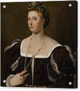 A Portrait Of A Lady Acrylic Print