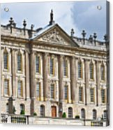 A View Of Chatsworth House, Great Britain Acrylic Print