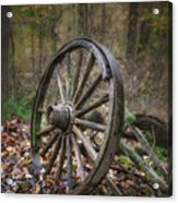 Abandoned Wagon Acrylic Print