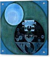 Abstract Painting - Lapis Lazuli Acrylic Print
