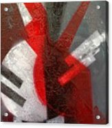 2 Abstract Vases Acrylic Print