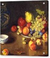 Abundance Of Fruit Acrylic Print