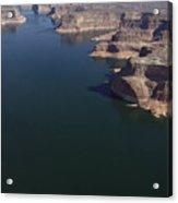 Aerial View Of Lake Powell Acrylic Print
