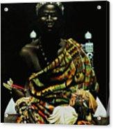 African Prince Acrylic Print