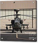 Ah-64d Apache Longbow At Pinal Airpark Acrylic Print