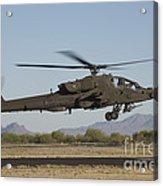 Ah-64d Apache Longbow Lifts Acrylic Print