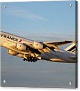 Air France A 380 Acrylic Print