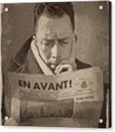 Albert Camus 1 Acrylic Print