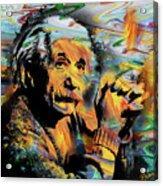 Albert Einstein.. - By Prar Acrylic Print