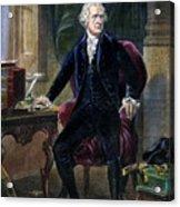 Alexander Hamilton Acrylic Print