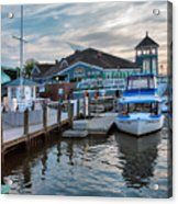 Alexandria Waterfront I Acrylic Print