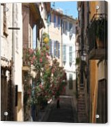 Alley - Provence Acrylic Print