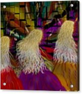 Angels To And Fro Acrylic Print