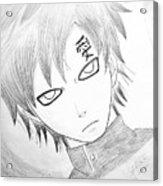 Anime Drawing  Acrylic Print