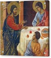 Appearance Of Christ To The Apostles Fragment 1311  Acrylic Print