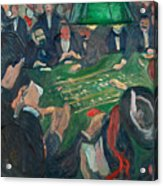 At The Roulette Table In Monte Carlo Acrylic Print