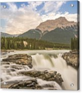 Athabasca Falls Jasper National Park Canada Acrylic Print