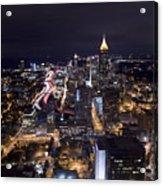Atlanta Georgia - Evening Commute Acrylic Print