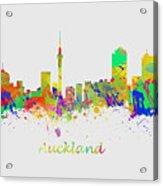 Auckland New Zealand Skyline Acrylic Print