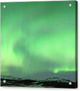 Aurora Borealis Or Northern Lights. Acrylic Print