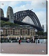 Australia - Sydney Harbour Bridge On Circular Quay Acrylic Print