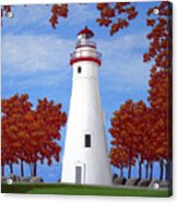 Autumn At Marblehead Acrylic Print