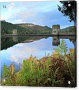 Autumn Derwent Reservoir Derbyshire Peak District Acrylic Print