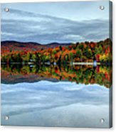 Autumn In The White Mountains Of New Hampshire Acrylic Print