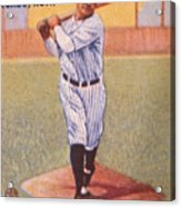 Babe Ruth (1895-1948) Acrylic Print