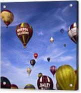 Balloon Fiesta Acrylic Print