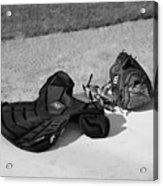 Baseball Glove And Chest Protector Acrylic Print