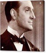 Basil Rathbone, Actor Acrylic Print