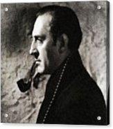 Basil Rathbone As Sherlock Holmes Acrylic Print