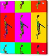 Basketball Player Acrylic Print