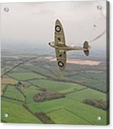 Battle Of Britain Spitfire  Acrylic Print