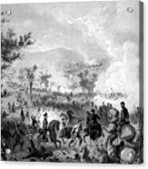 Battle Of Gettysburg Acrylic Print